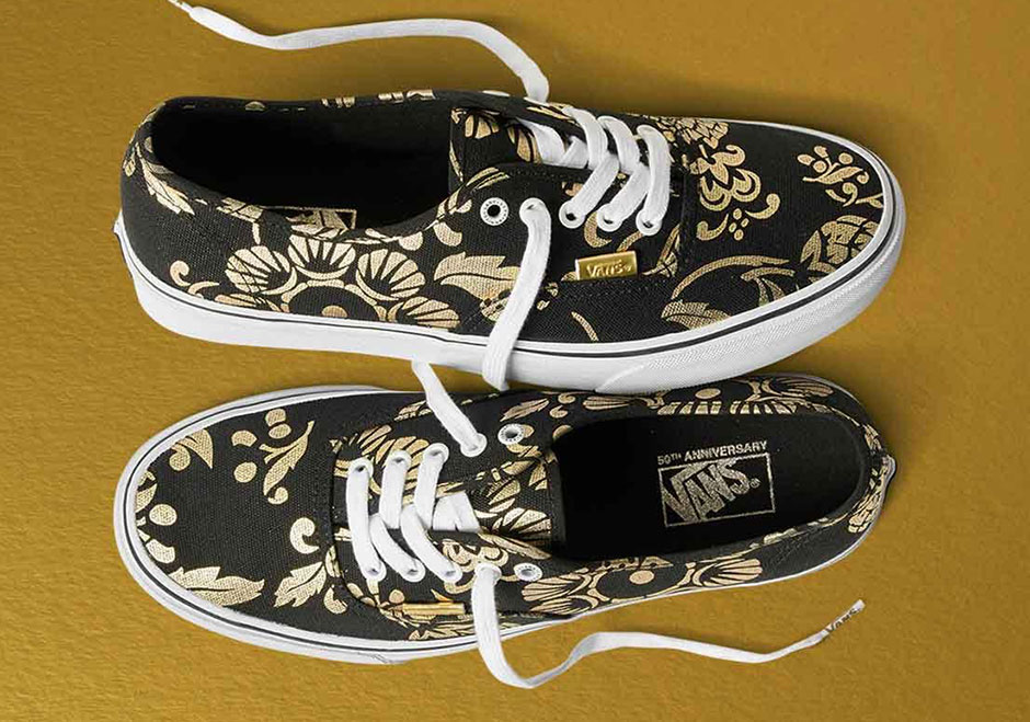 014d4031ac5 Vans 50th Anniversary Gold Collection