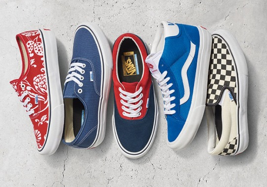 Vans Celebrates 50 years With the Pro Classics Anniversary Collection