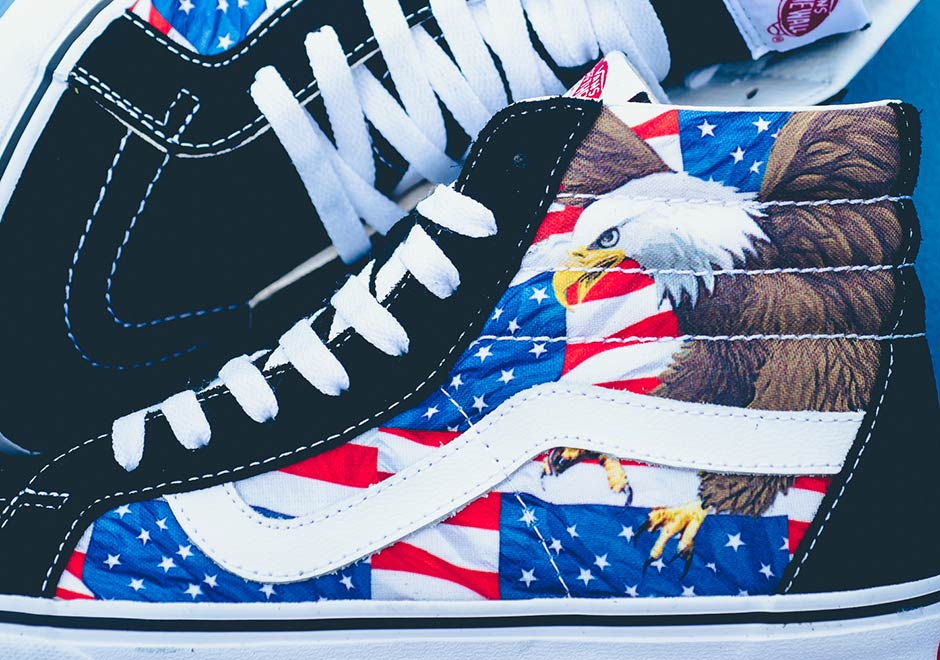Nike Shoes With American Flag On Tongue