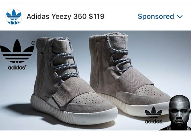 c3079a129 Instagram Features Sponsored Ad For Fake Yeezy Boosts - SneakerNews.com