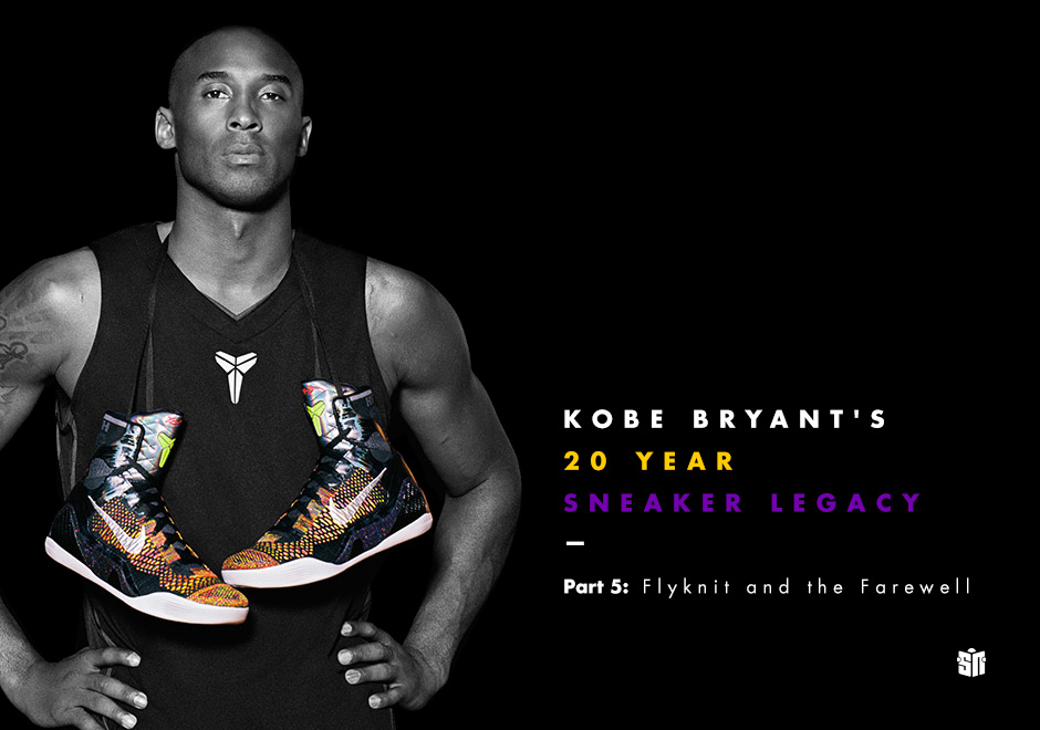 Kobe Bryant's 20 Year Sneaker Legacy Part 3: The Early
