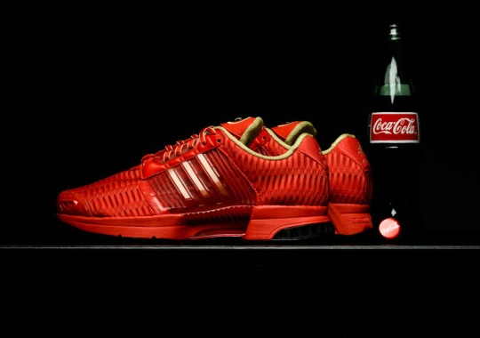 Coca Cola Teams Up With adidas For A Soda-Inspired ClimaCool