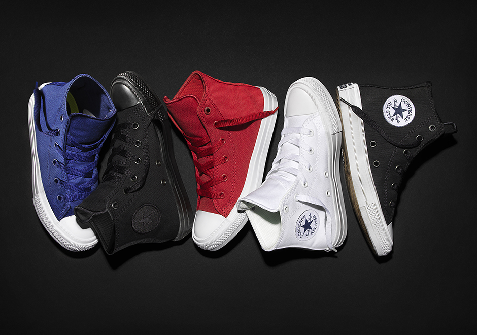 Now Your Kids Can Rock The Converse Chuck II