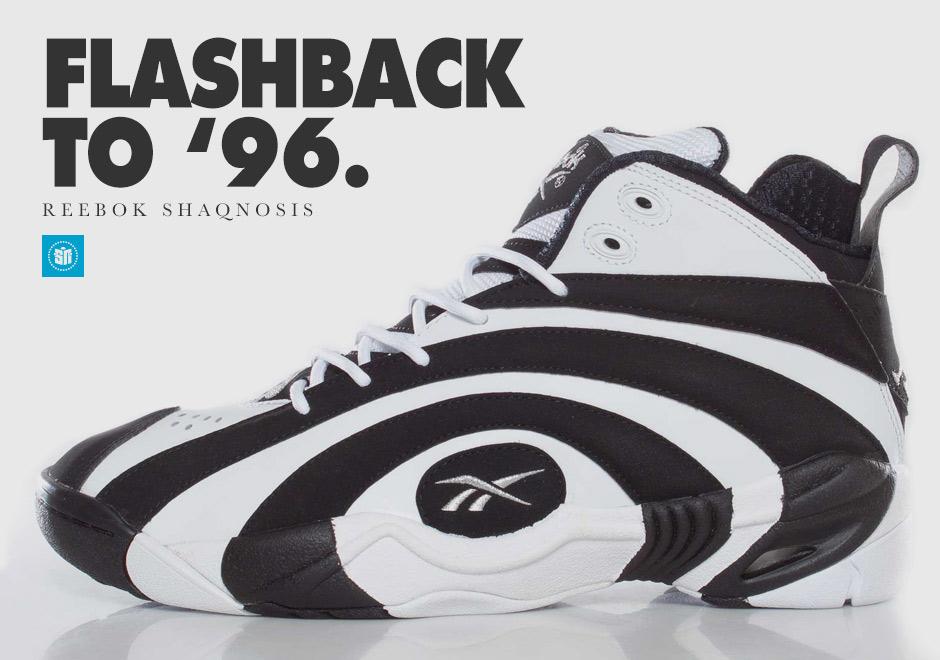 premium selection ee558 7ce20 Flashback to 96  The Hypnotizing Reebok Shaqnosis