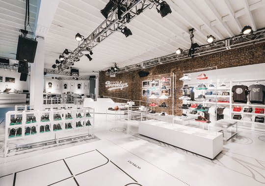 Jordan Brand Celebrates The Jordan Brand Classic With Pop-Up At 166 Flatbush