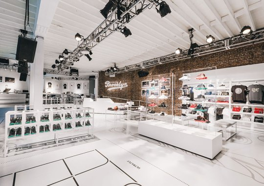 Jordan Brand Celebrates The Jordan Brand Classic With Pop-Up At 166 Flatbush