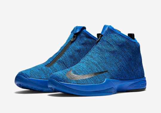 0d80c6194f7a Blue Jacquard Uppers On The Latest Nike Zoom Kobe Icon