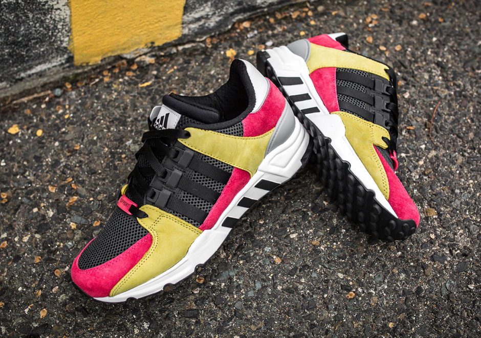 ca6f6d3ee050b0 Gold And Lush Pink Hit The adidas EQT Support  93