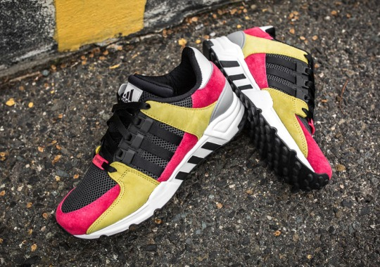Gold And Lush Pink Hit The adidas EQT Support '93