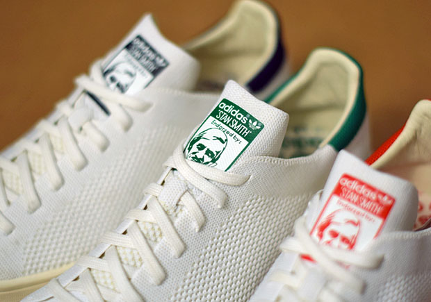 Primeknit Returns To The adidas Stan Smith In OG Colors ... 60f3fc34a