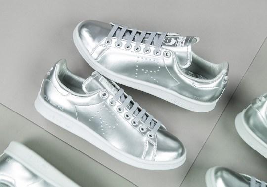 Raf Simons' Next adidas Stan Smith Goes Metallic