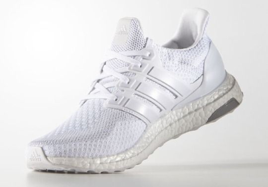 "Another ""Triple White"" adidas Ultra Boost Is Now Available"