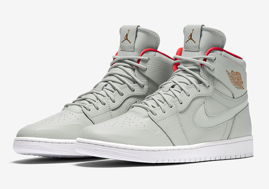 d86f8a08c896 Air Jordan 1 Nouveau Pure Platinum Yeezy