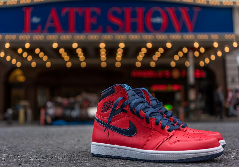 the latest 549d0 a7944 Jordan 1 David Letterman Release 555088-606   SneakerNews.com