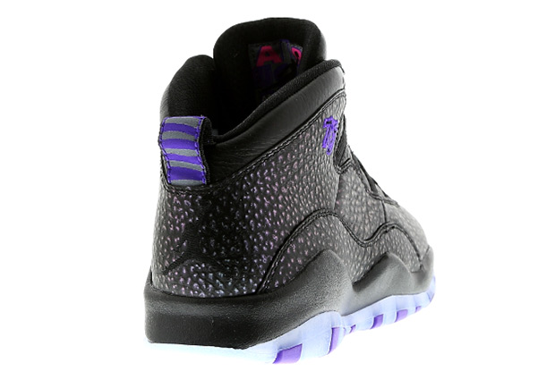 66636ebe2f1b Air Jordan 10 Retro. Color  Black Fierce Purple-Black Style Code  310805-018.  Release Date  April 9th