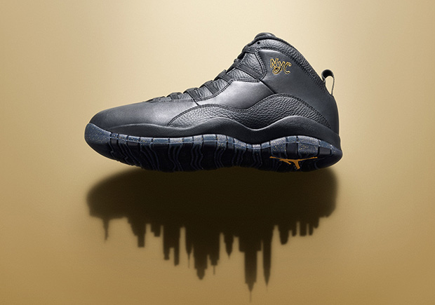 """The Air Jordan 10 """"NYC"""" Has Two Different Release Dates"""