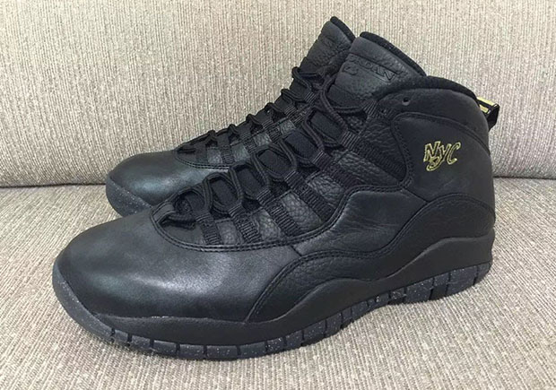 "a16edb4d15b71c Release Date For Air Jordan 10 ""NYC"" Gets Pushed Back 5 Days"