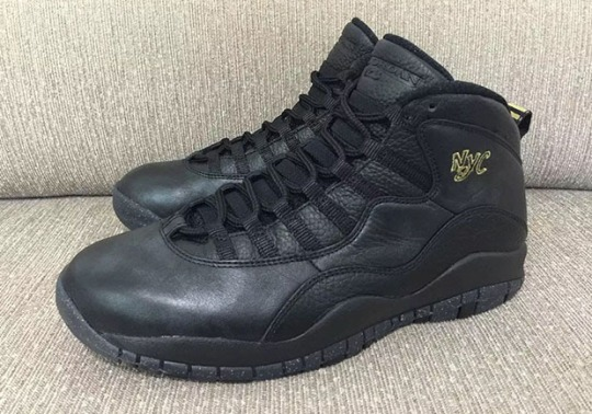 "Release Date For Air Jordan 10 ""NYC"" Gets Pushed Back 5 Days"
