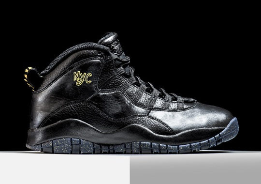 "new photos 90234 5abae Jordan Brand s Air Jordan 10 ""City Pack"" Returns To NYC Tomorrow"