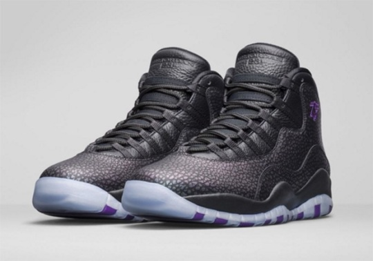 "Air Jordan 10 ""Paris"" Releases In Europe This Weekend"