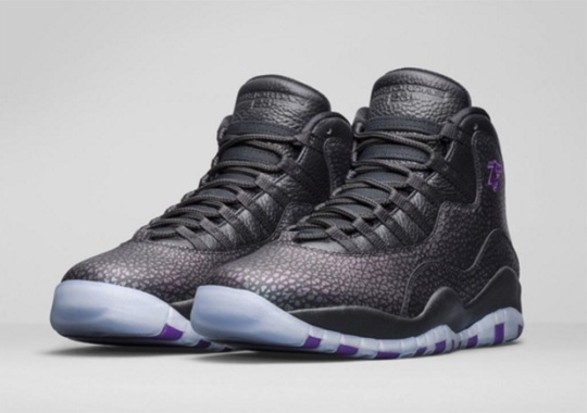 """sports shoes f1909 1459e Air Jordan 10 """"Paris"""" Releases In Europe This Weekend"""