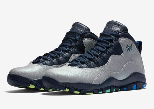 "The Air Jordan 10 ""Rio"" Releases Next Weekend"