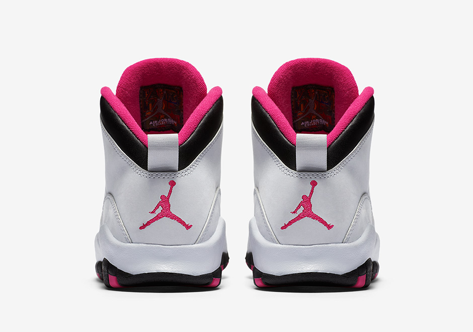 first rate 67ba4 ae484 Air Jordan 10 GS Vivid Pink Release Date   SneakerNews.com