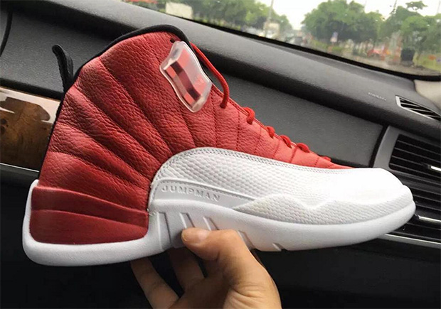 Air Jordan 12 Fac Rouge 2016 Buick