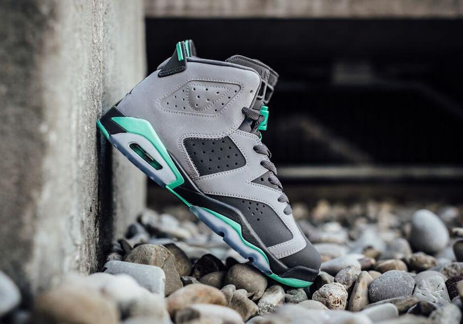 aliexpress new specials hot product Jordan 6 GG Cement Grey Green Glow 543390-005 | SneakerNews.com