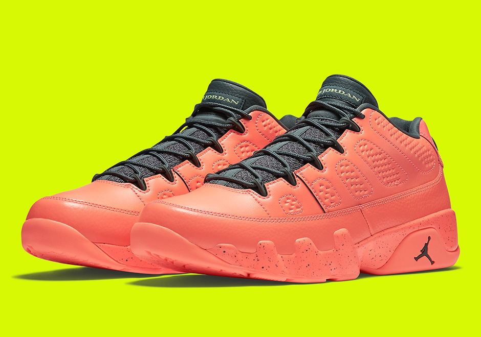 more photos e3028 710d1 Jordan 9 Low Bright Mango 832822-805 Release Date   SneakerNews.com