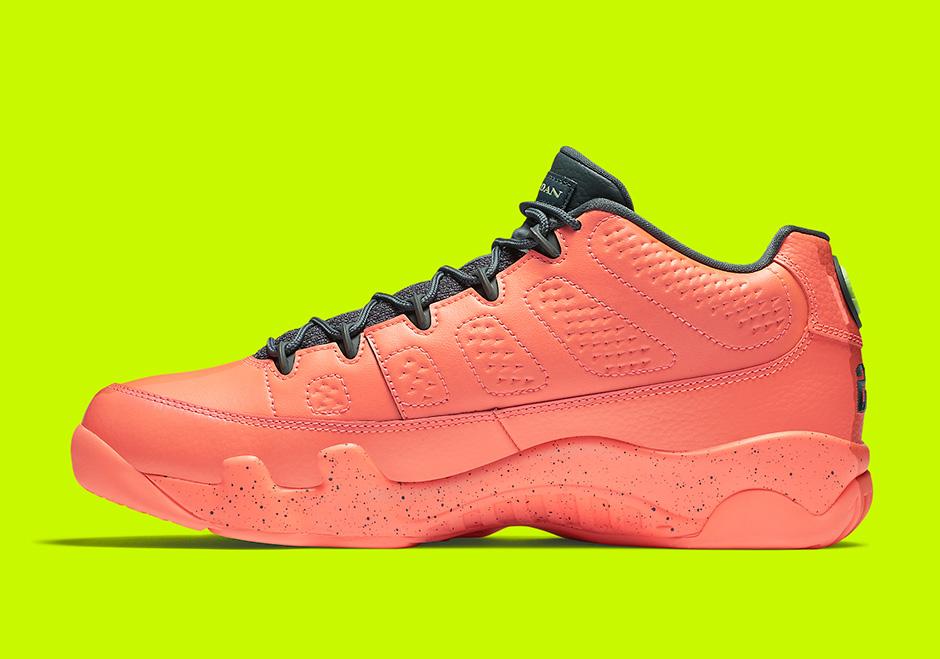 online store ca449 de947 Jordan 9 Low Bright Mango 832822-805 Release Date ...