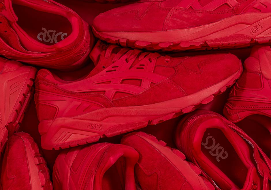 asics kayano czerwone