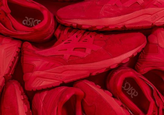 """ASICS GEL-Kayano """"Triple Red"""" Available In One Store In The U.S."""