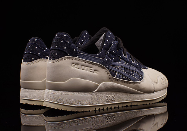 ASICS Dresses Up The GEL-Lyte III With Japanese-Made Materials ... b6f10ad7edad
