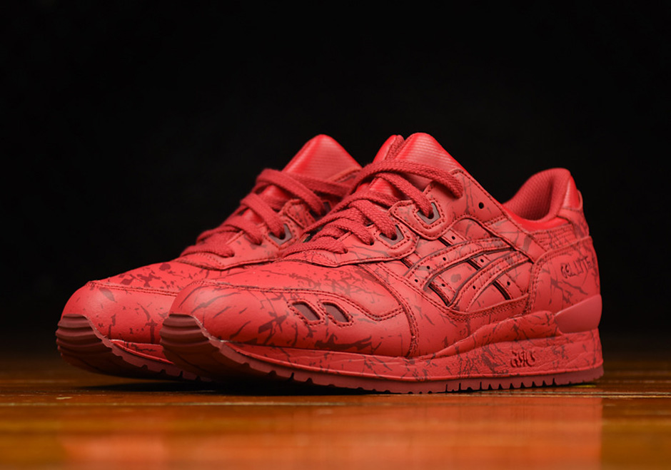 Asics Gel Lyte Iii Quot Marble Pack Quot Available Sneakernews Com