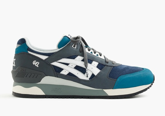 J.Crew Designs Two Colorways Of The ASICS GEL-Respector