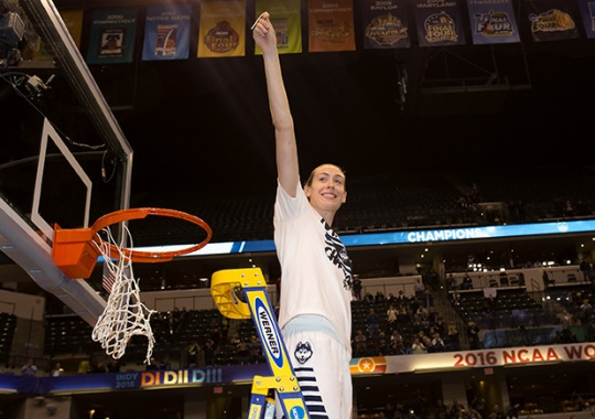 Nike Signs Breanna Stewart, One Of The Best College Basketball Players In History