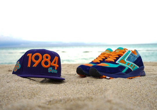 "The Shoe Gallery x Brooks Heritage Regent ""84 Fins"" Drops Today"