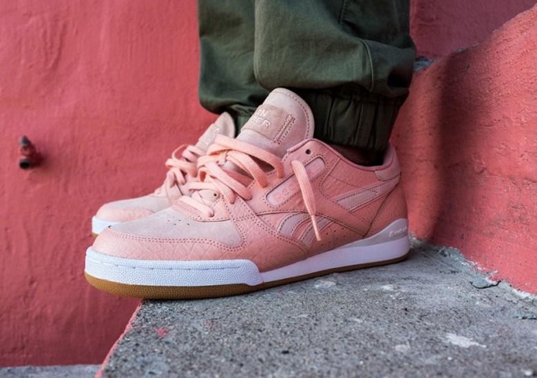 Burn Rubber X Reebok Phase 1 Detroit Playas Pink Gators
