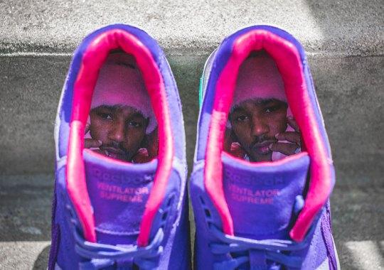 "A Detailed Look At Cam'ron's Reebok Ventilator Supreme ""Purple Haze"""