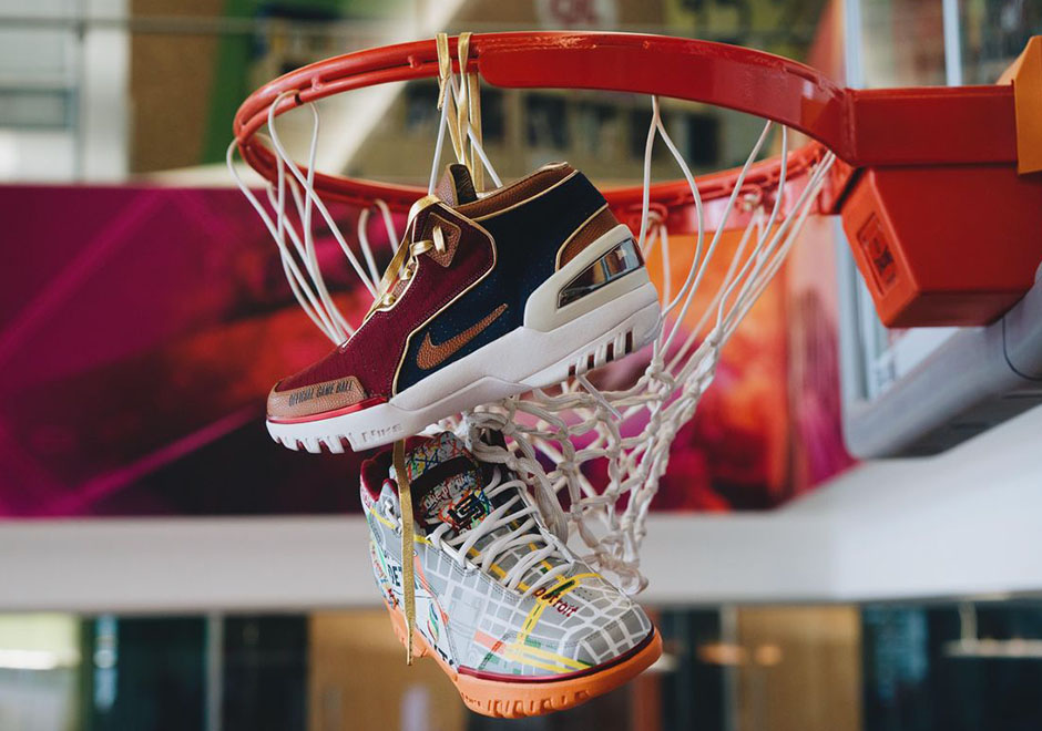 953b31ad Cavs Owner Dan Gilbert Gets Custom Nike Air Zoom Generations -  SneakerNews.com