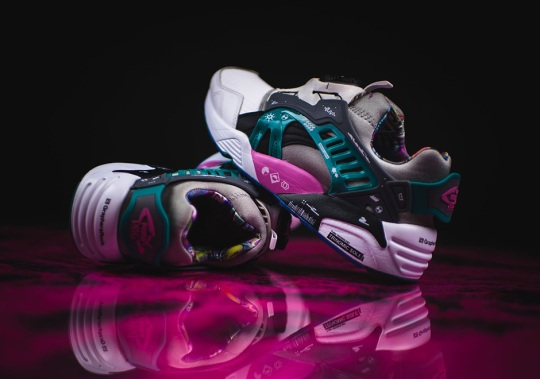 Puma Teams Up With Japanese Creatives Graphers Rock For Two Disc Blaze Designs