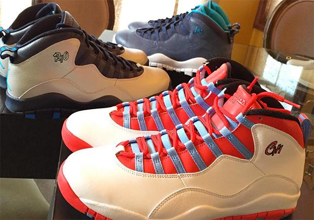 Air Jordan 10 quot LAquot and quot Chicagoquot Release Date
