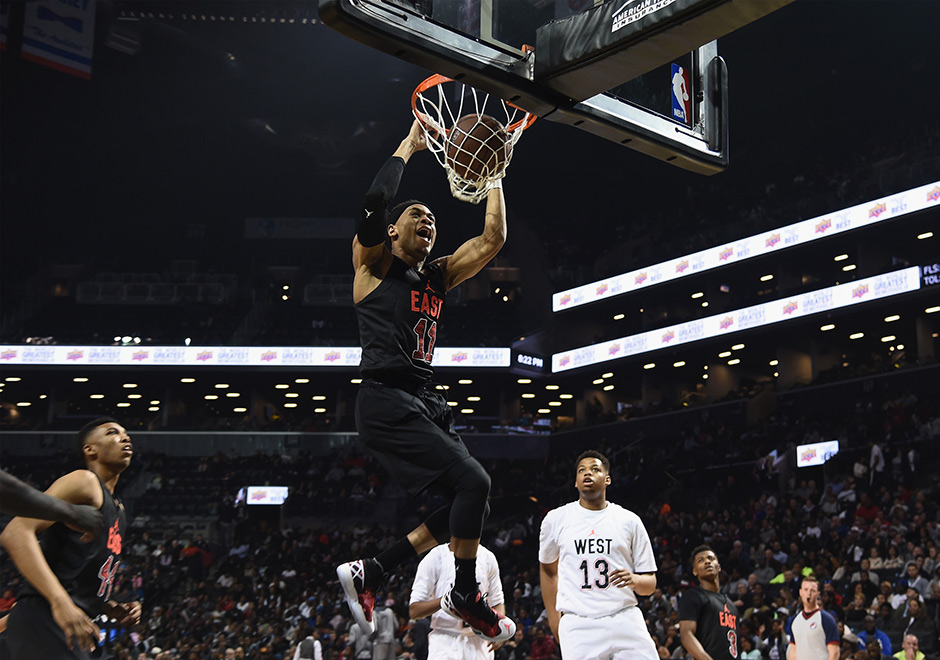 Jordan Brand Classic Showcases The Nation s Top High School Basketball  Talent Of 2016 - SneakerNews.com 2ad78823d