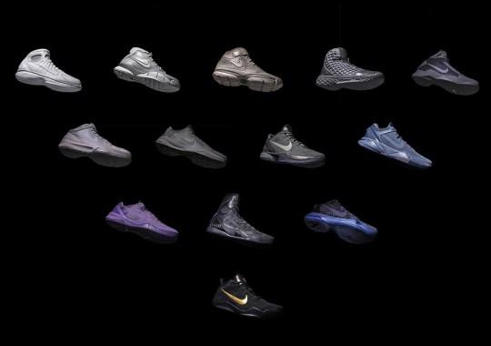 "KITH To Release Entire Nike Kobe ""Black Mamba"" Pack Via In-Store Raffle"