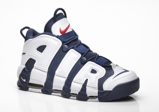 "Scottie Pippen's Nike Air More Uptempo ""Olympic"" Is Returning This Summer"