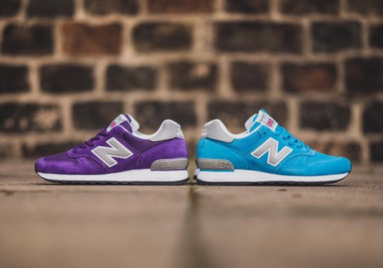 The New Balance 670 Made In England Returns In Two Bright Colorways