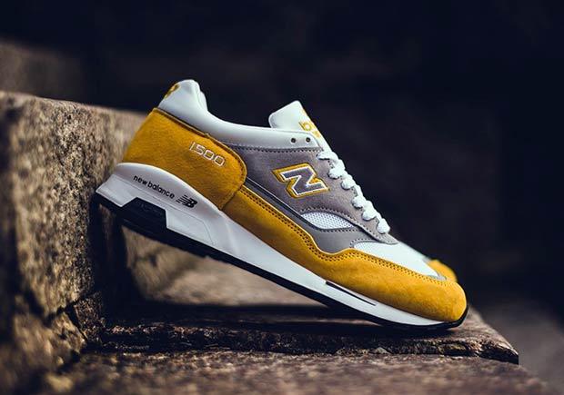 new balance 1500 classic yellow