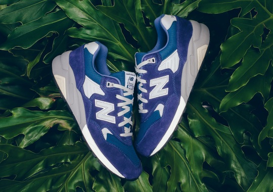 Clean Blue Suede Arrives On The New Balance MT580