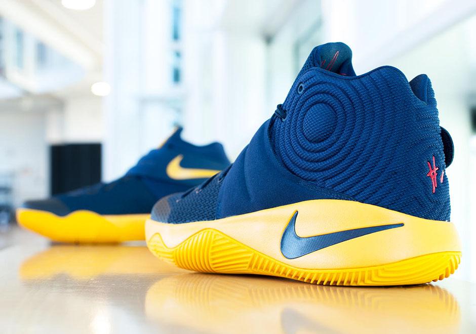 "pretty nice 48d74 0a94d Nike Kyrie 2 ""Cavs PE"". Color  Midnight Navy Midnight ..."